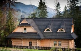 Kościelisko. Całoroczny, jednorodzinny dom z bali.