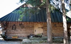 Karczma i restauracja z bali jednoizbowa Zakopane