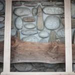 rama drewniana do lustra BALHAUS