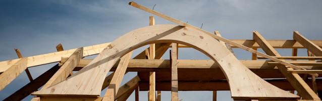 Budowa domu z bali – Etap III – część drewniana